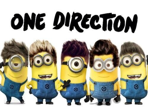 @Sabbir Osmani Hafeji Malik @Harpreet Khurana Singh Styles @Niall Dunican Dunican Horan @Angela Gray Bertasson Tomlinson @Jeff Sheldon Rubio Payne  One Direction minions are the best! I can see Louis causing the most chaos, Harry becoming transfixed by something really simple, Niall running around laughing like crazy, no one knowing where Zayn is and Liam watching all the insanity, not quite sure what to do. xxx :)