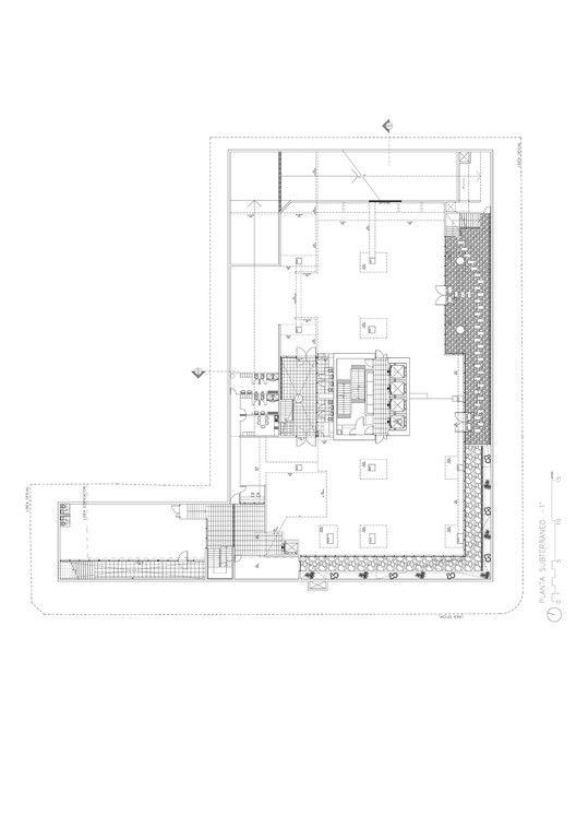 Office Building Kennedy-Wisconsin,-1 Floor Plan