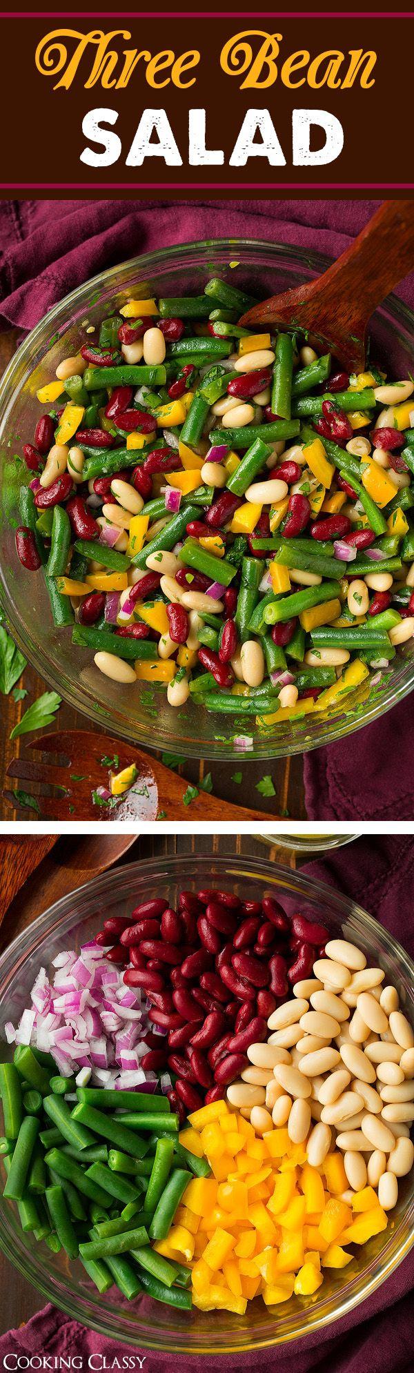 Three Bean Salad | Cooking Classy