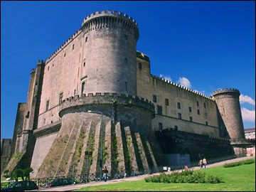 Naples, Italy- took the boys here a few times.. amazing castle!