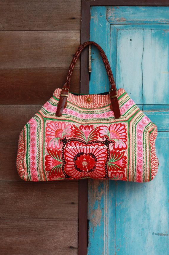 Luxury Tribal Ethnic Tote Bag L216L1  SALE 99 by LavishLanna