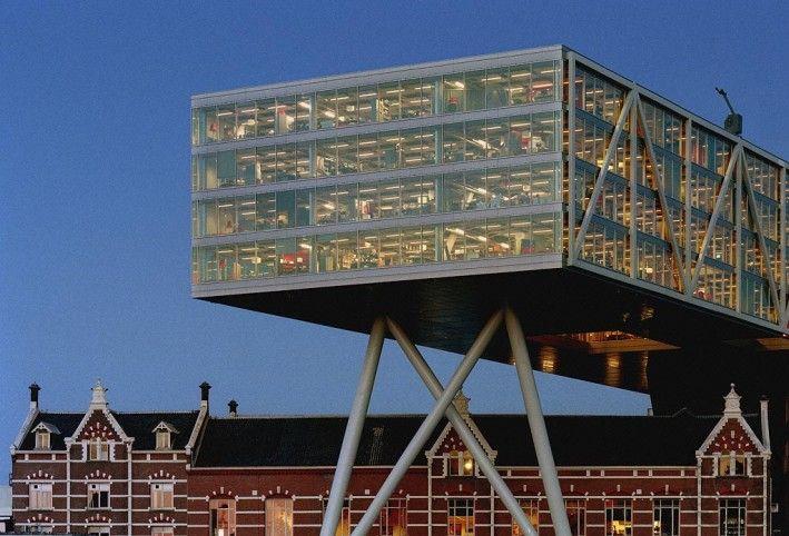 architecture rotterdam-de brug-unilever