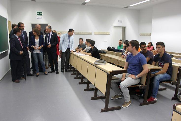 El nuevo Campus Científico-Tecnológico en Linares inicia hoy su camino