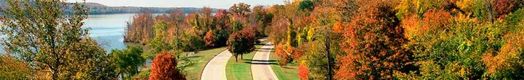 The Mount Vernon Trail is an 18-mile paved multi-use trail winds alongside the Potomac River from George Washington's Mount Vernon Estate to Theodore Roosevelt Island - great for walking, jogging, or biking