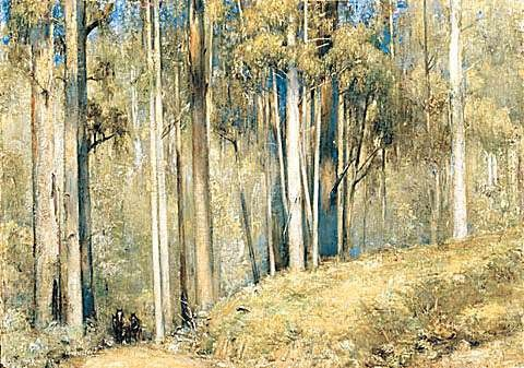 Tom Roberts (British-born): Sherbrooke Forest (1924)