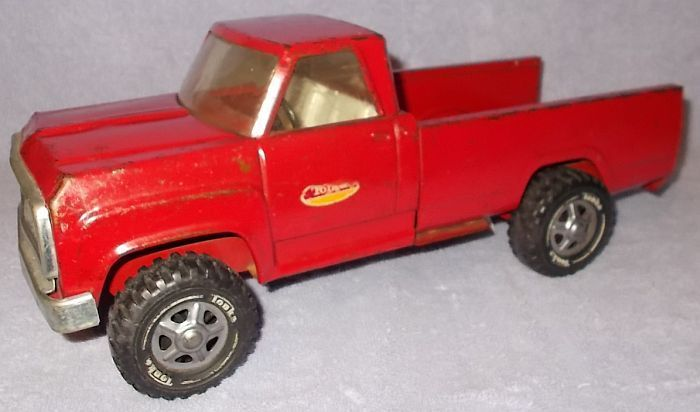 Tonka Red Steel Pick Up Truck, No  11060, Looks to be Ca
