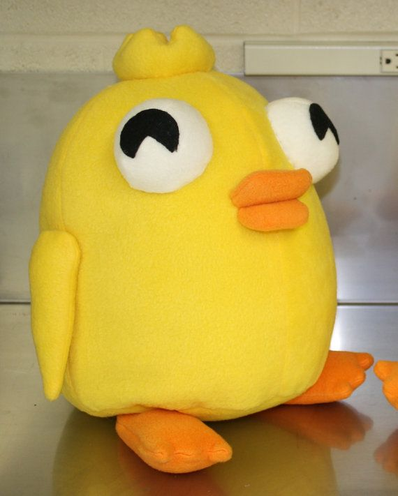 Ducky Momo plush!! I wonder if Grace could make this?