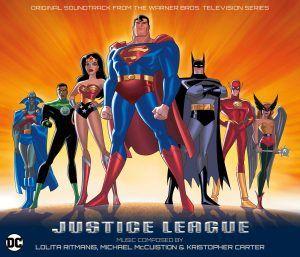 July 18 2016: La-La Land Records Announces Animated Justice League 4-CD Soundtrack