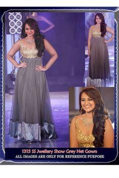Sonakshi Sinha Bollywood Replica Long Anarkali Dre