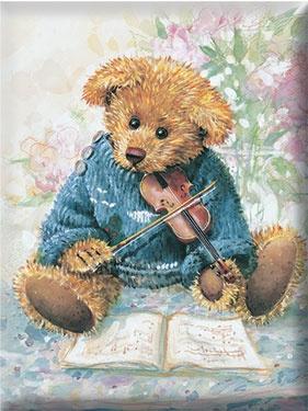 Musical bear.