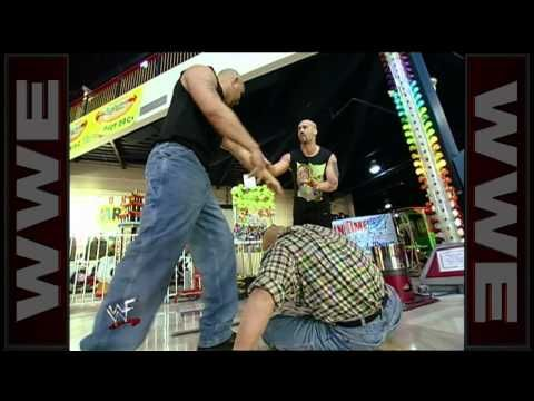 The Headbangers attack Crash Holly at Fun Time USA: Smackdown, March 16, 2000 funny/crazy match