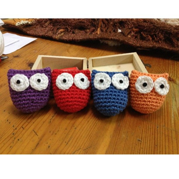 #amigurumi #family #owl #buho