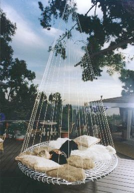 Outdoor Floating Bed best 25+ outdoor hammock bed ideas on pinterest | diy swing