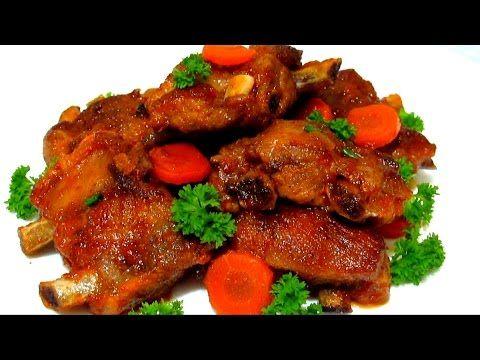 #РЕБРЫШКИ Тушеные в Томатном Соке Сочные и  Вкусные #Рецепт - YouTube