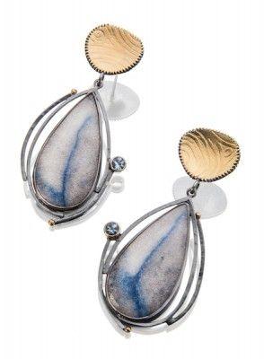 Cloudy Sky earrings | Jewelry design earrings, Silver jewelry ...