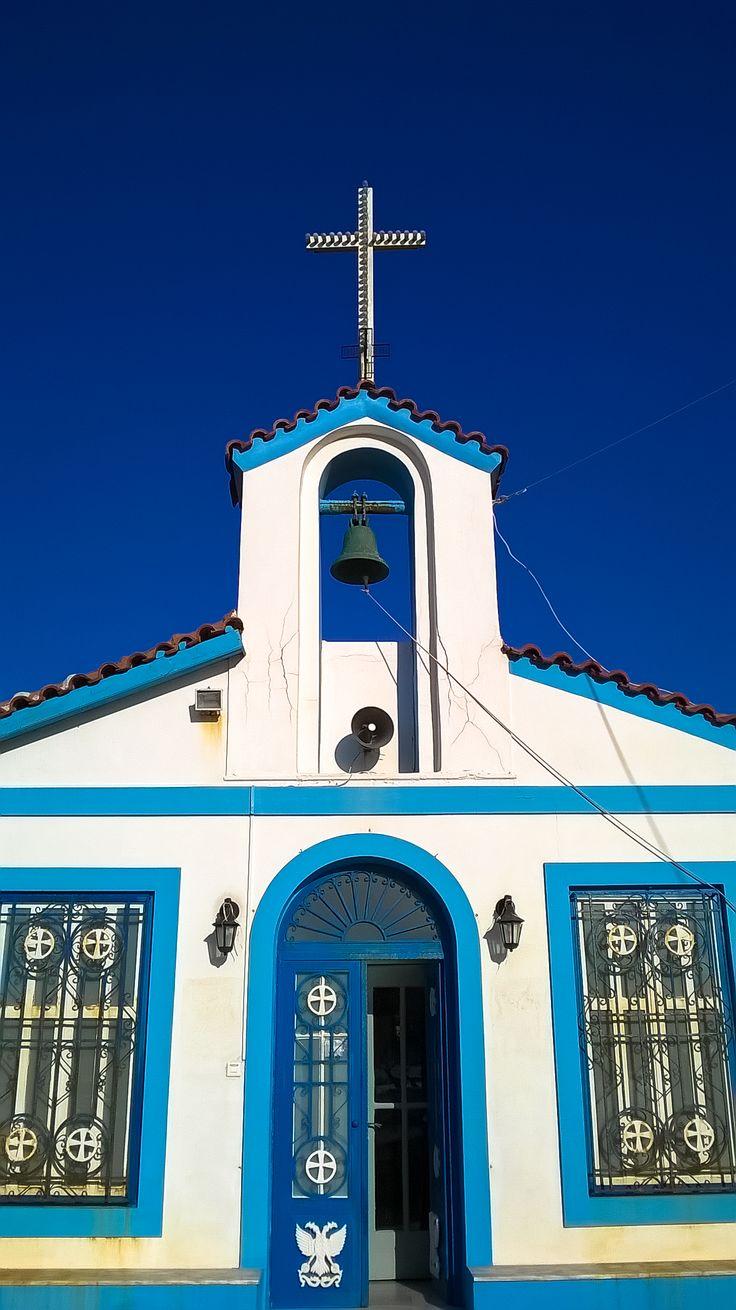 Church in Aigio, Greece.