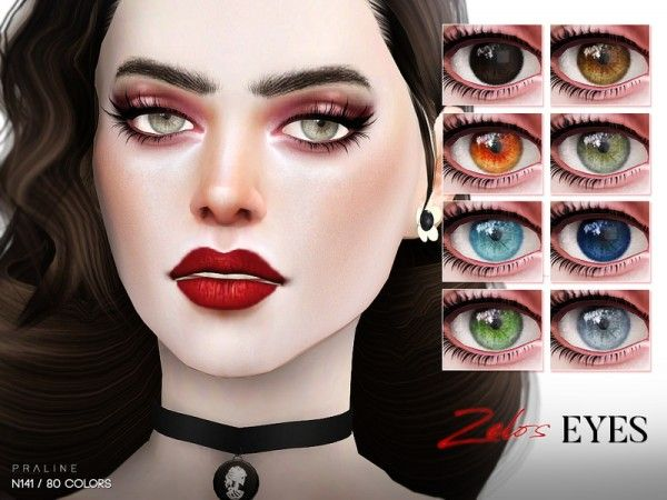 The Sims Resource: Zelos Eyes N141 by by Pralinesims • Sims 4 Downloads