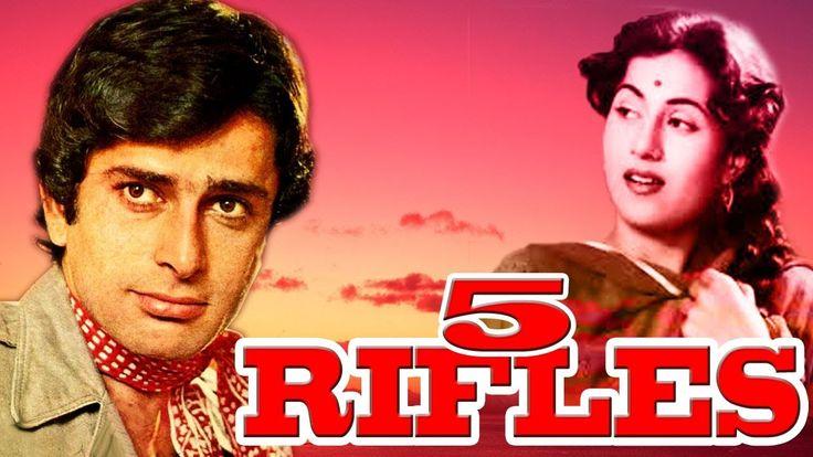 nice 5 Rifles | Rajesh Khanna, Shashi Kapoor | Full Comedy Movie