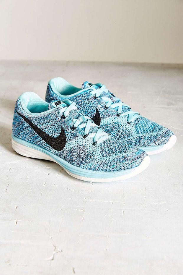 cheap for discount a4c76 49a5b ... Nike Womens Flyknit Lunar 3 Running Sneaker - Urban Outfitters ...