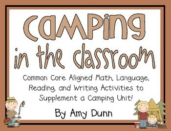 This pack supplements a camping theme in your classroom! This 117 page unit is full of activities for reading, writing, language(grammar), and math...