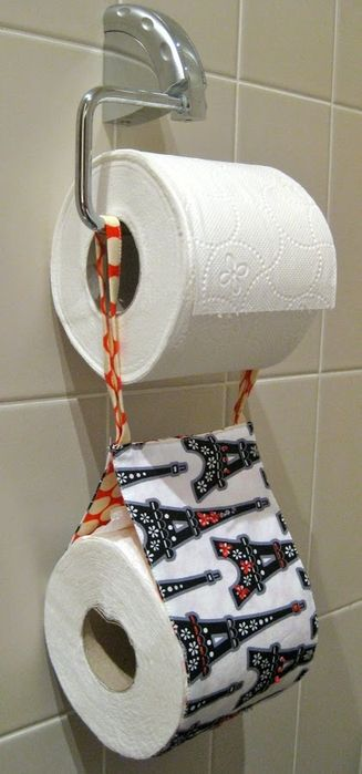 Бумажница для туалетной бумаги своими руками