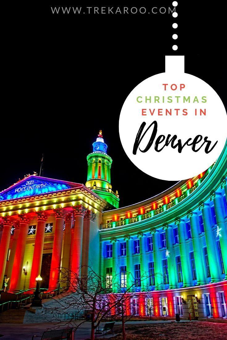 Christmas Events In Denver 2020 Christmas in Denver in 2020 | Denver christmas, Christmas events