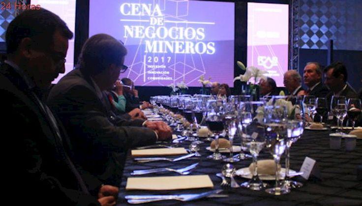 Innovación, energía y cooperación marcaron pauta en Cena de Negocios Mineros de la AIA