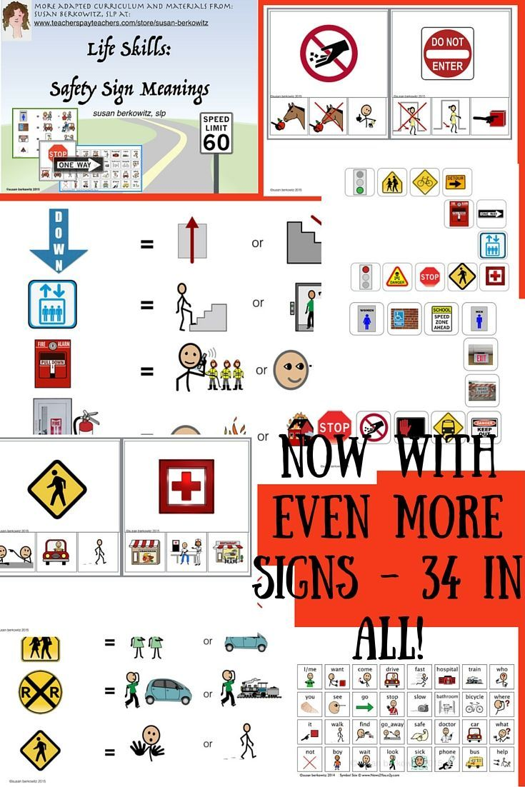 Top 25 best traffic signs and meanings ideas on pinterest funny language of life skills safety signs meanings activity robcynllc Images