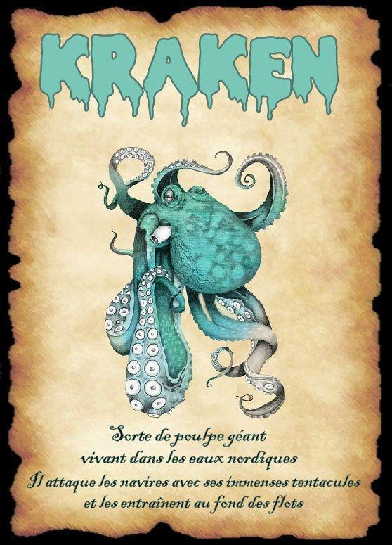 affiche kraken