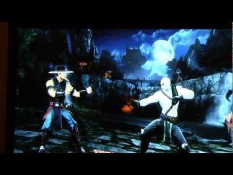 Mortal Kombat 9 Kung Lao VS Quan Chi Online Play