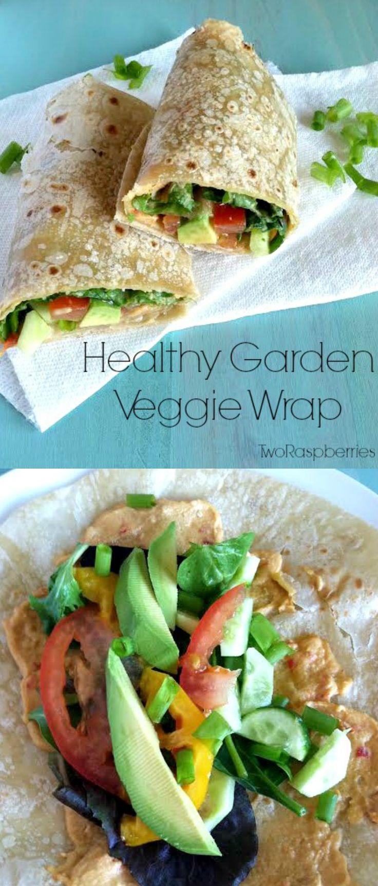 Veggie wraps on Pinterest   Vegetarian wraps, Healthy tortilla wraps ...