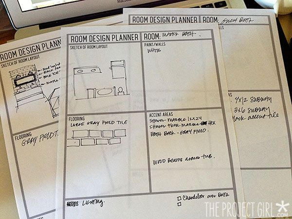 Room Design Planner U2013 *Free Download | Jenallyson   The Project Girl   Fun  Easy