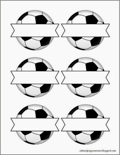 Kit para Fiestas de Futbol, para Imprimir gratis. Soccer Theme Sports