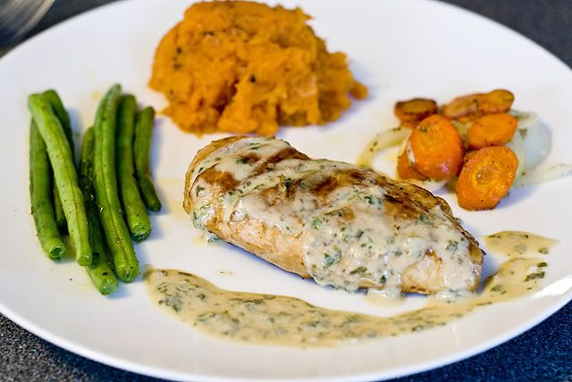 foodizm: grilled coconut chicken