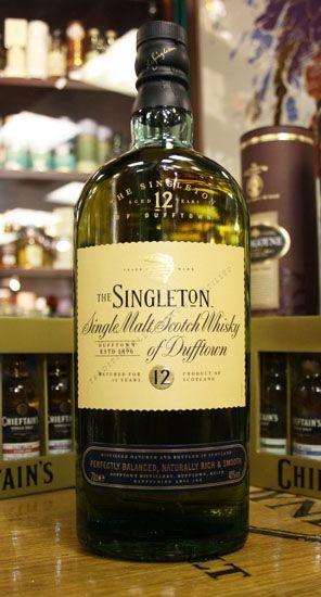 Whisky Singleton  single molt 12 years of Dufftown - односолодовый шотландский виски из региона Спейсайд. Отборный солод самого высокого качества, чистейшая горная вода, более длинный п...