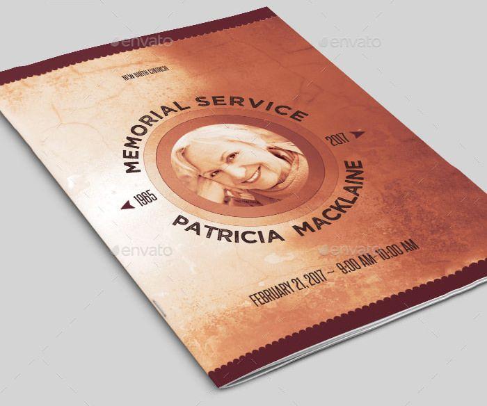 22+ Funeral Program Templates - Free Word, PDF, PSD Documents Download   Free & Premium Templates