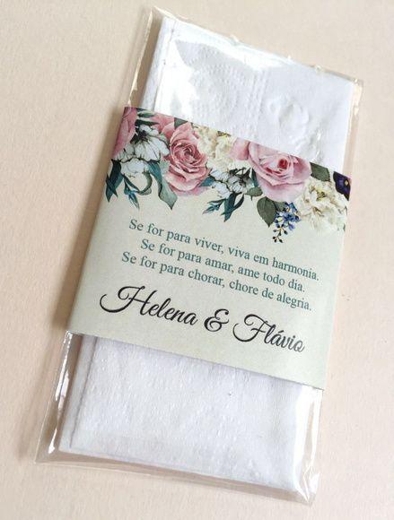 Lenço Lágrimas de Alegria Vintage Floral