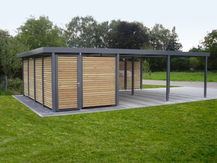 Gallactically pleasant carport design pictures from for Stand alone carport designs