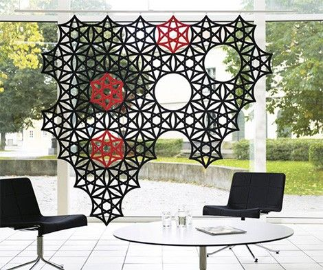 Sound Absorbing Screen Abstracta Airflake 2. Room PartitionsCreative ...