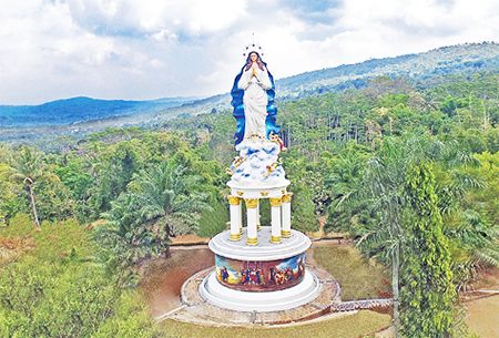Patung Bunda Maria Assumpta, Kabupaten Semarang