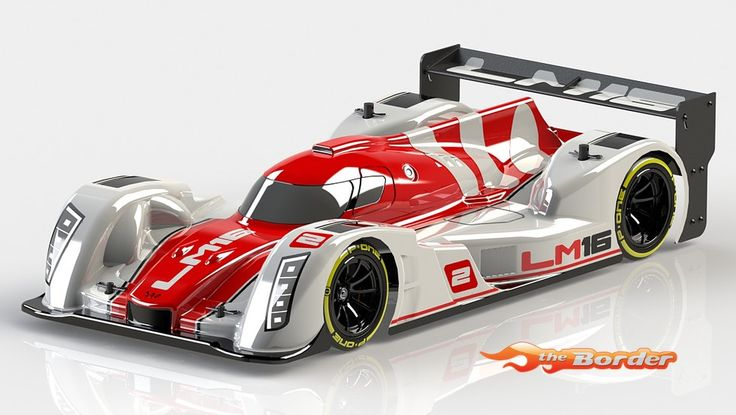 WRC 1/10 LeMans BodyShell + Rear Wing 02024-5-1 :: Kits by WRC :: Electric Powered Cars :: Car Kits :: The Border Online RC Shop