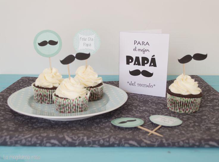Cupcakes de cerveza negra y feliz día del padre!