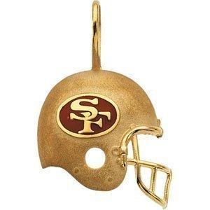 San Francisco 49ers Helmet Pendant Sports Pinterest
