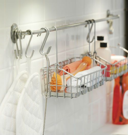 Ikea Kitchen Hanging Rail: 17 Best Ideas About Hanging Shower Caddy On Pinterest