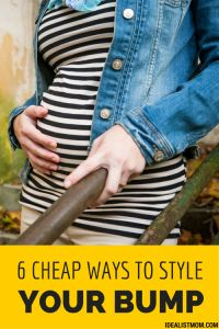 How To Dress Your Baby Bump! Learn what styles look great with your growing baby bump and what pieces to invest in for a cute and comfortable pregnancy. #pregnancystyle #dressbabybump #styleyourbump