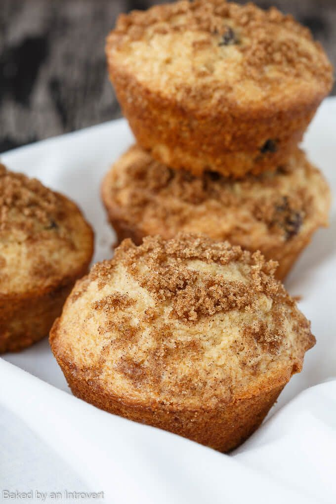 Cinnamon Raisin Muffins Recipe | Baked by an Introvert