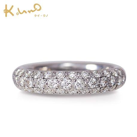 ケイ・ウノ:【ケイ・ウノ】気品のある輝きをまとうパヴェリング。パヴェの結婚指輪・マリッジリングの一覧❤