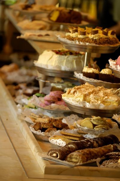 Taxinge Slott, Northern Europe biggest cake buffet w/ up to 50 different cakes/cookies! Right outside of Stockholm