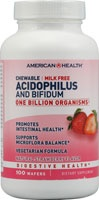American Health Chewable Acidophilus and Bifidus Strawberry Wafers available at People's Pharmacy