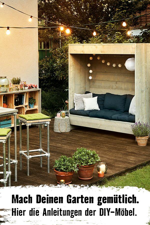 Alles selbstgebaut. Deine Gartenmöbel für einen …